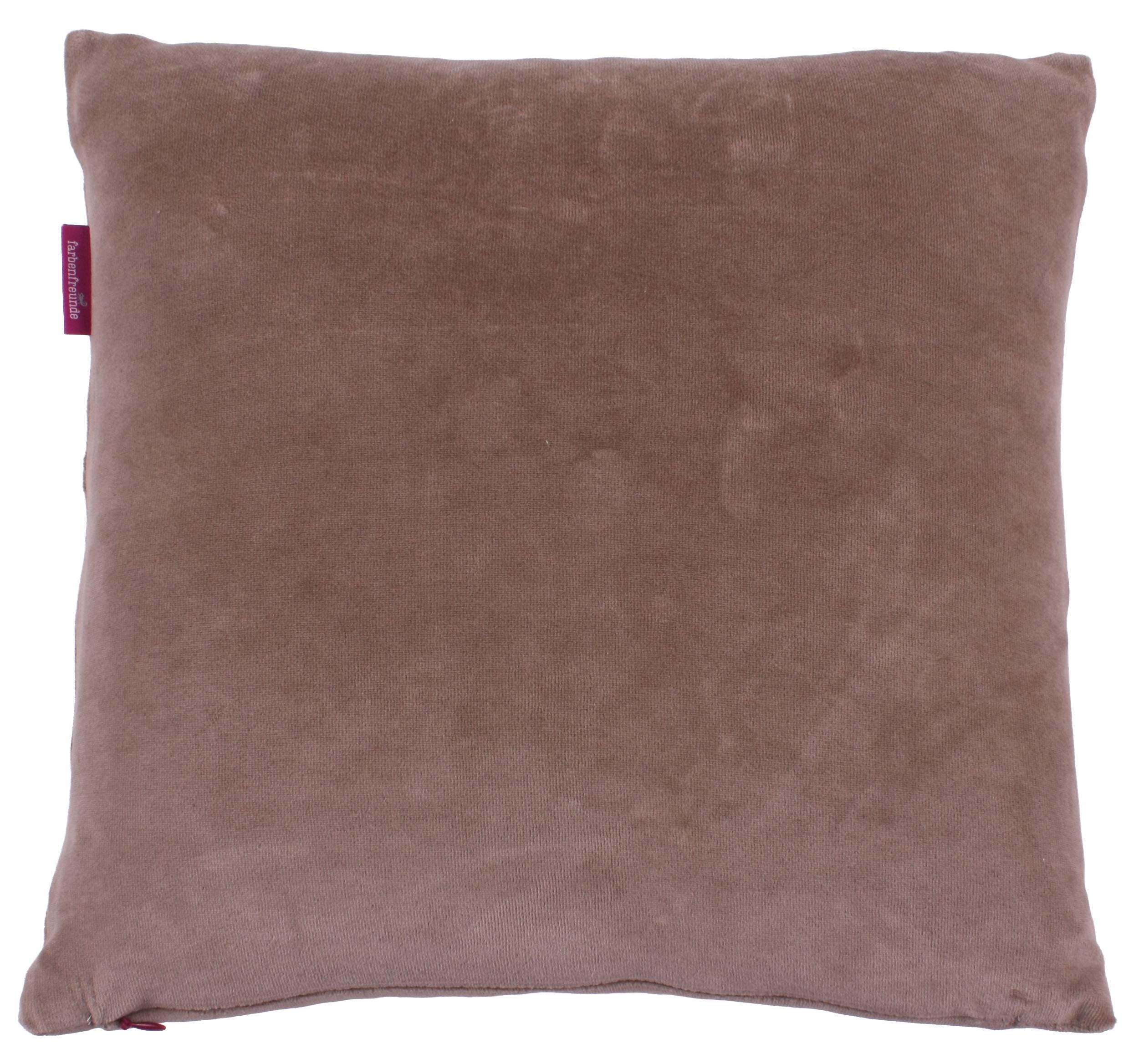 kissenh lle farbenfreunde 40x40 cm muskat der bettenhaus online shop. Black Bedroom Furniture Sets. Home Design Ideas