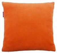 "Kissenhülle ""FARBENFREUNDE"" 40x40 cm orange"