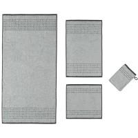 Cawö Sense Border - Weiß/Grau