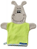 Waschhandschuh HIPPO grün
