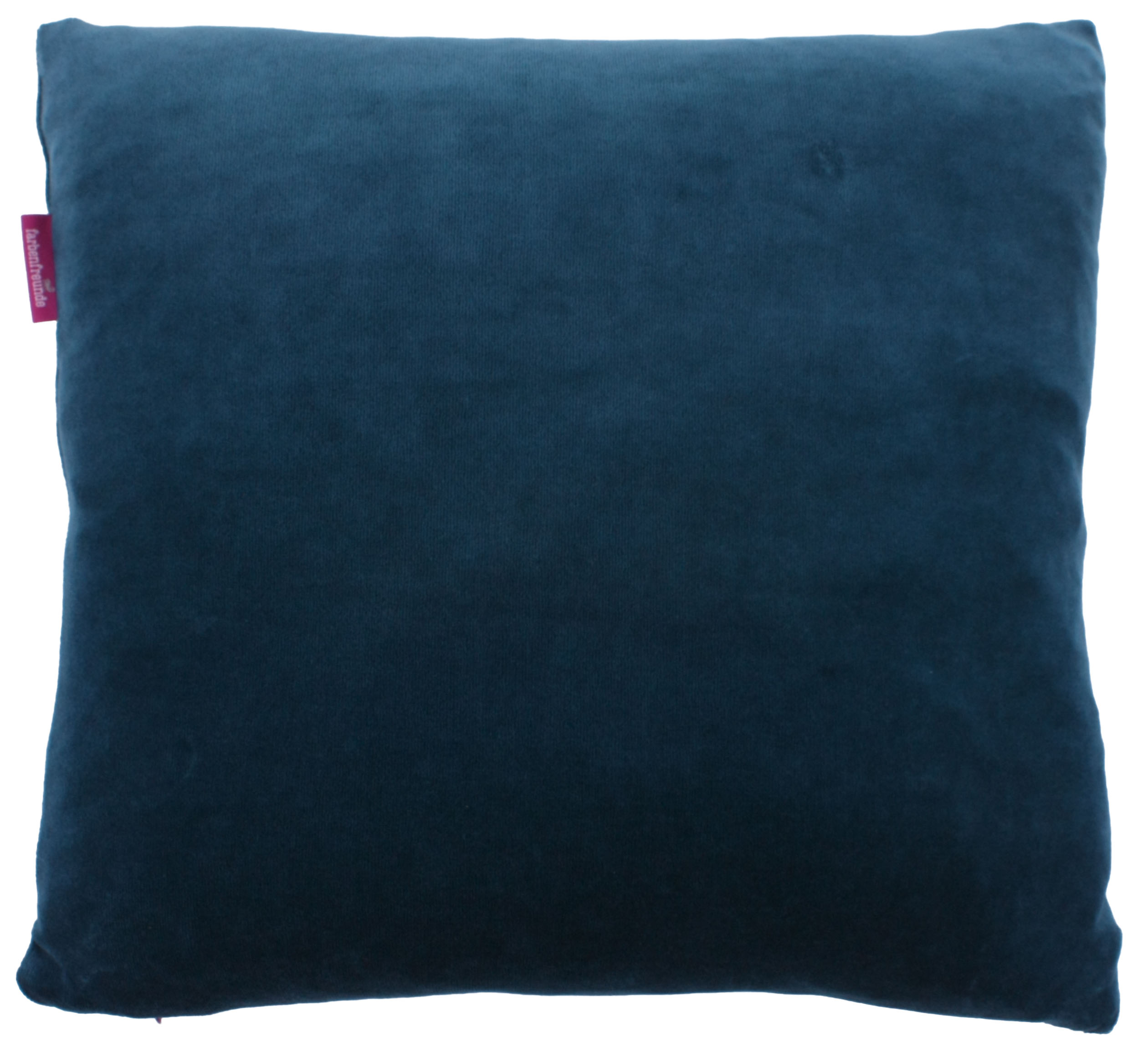 kissenh lle farbenfreunde 40x40 cm winterpetrol der bettenhaus online shop. Black Bedroom Furniture Sets. Home Design Ideas